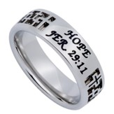 Hope Mirage Women's Ring, Size 8 (Jer. 29:11)