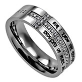 I Know, Crescent Women's Ring, Size 9 (Jeremiah 29:11)