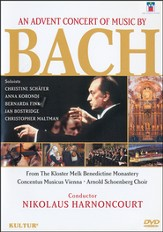 An Advent Concert of Music by Bach, DVD