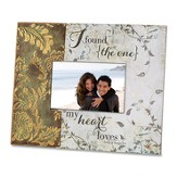 I Found the One My Heart Loves Photo Frame