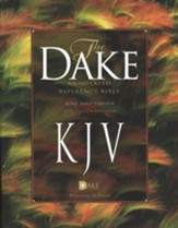 KJV Dake Annotated Reference Bible (large note edition) -  hardcover