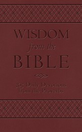 Wisdom from the Bible: 365 Daily Devotions from the Proverbs