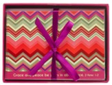 Grace and Peace Chevron, Blank Note Cards  Box of 8
