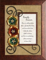 Family Forever Framed Tabletop Art