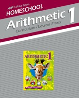 Homeschool Arithmetic 1 Curriculum/Lesson Plans