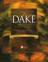 Dake Annotated Reference Bible, Compact Edition Softcover
