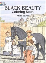 Black Beauty Coloring Book