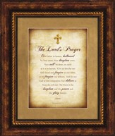 The Lord's Prayer Framed Art