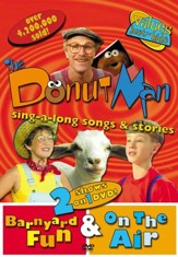 The Donut Man: Barnyard Fun & On The Air, DVD