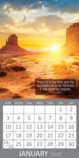 2016 Psalms Magnetic Calendar