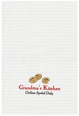 Grandma's Kitchen, Embroidered Towel