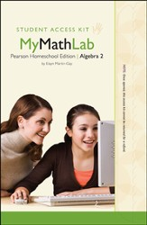 MyMathLab for Homeschool: Algebra 2 Student/Child  Access Kit