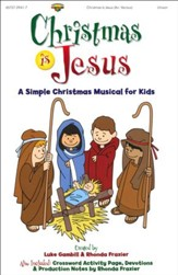 Christmas Is Jesus, Choral Book