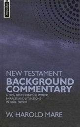 New Testament Background Commentary: A New Dictionary of Words, Phrases, and Situations in Bible Order