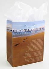 Footprints Gift Bag, Medium
