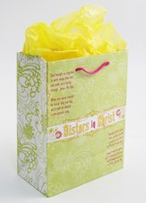 Sisters in Christ Gift Bag, Large