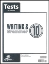 Writing & Grammar Grade 10 Tests (4th Edition)