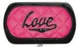 Love, Retro Wallet, Pink
