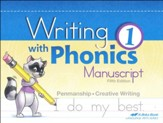 Writing with Phonics 1 (Manuscript; New Edition)