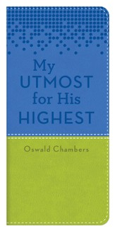 My Utmost Vest Pocket Edition - Blue/Lime Green