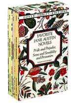 Favorite Jane Austen Novels Boxed Set, 3 Volume