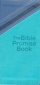 Bible Promise Book, Blue and Teal, KJV
