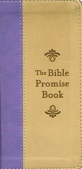 Bible Promise Book, Purple & Tan, KJV