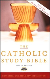 The New American Catholic Study Bible, Second Edition  - Slightly Imperfect