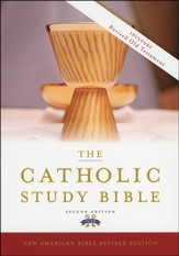 The New American Catholic Study Bible, Second Edition--bonded leather, black - Imperfectly Imprinted Bibles