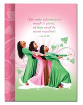 Three Ladies Journal, Pink and Green