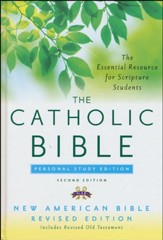Catholic Bible Personal Study Edition NABRE