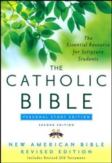 The New American Bible, Catholic Study, Personal,  Second Edition - Imperfectly Imprinted Bibles