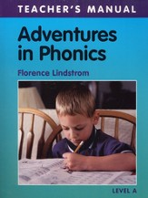 Adventures in Phonics Level A, Teacher's Manual, Grade K