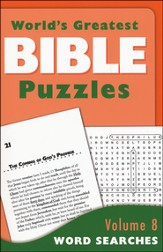 World's Greatest Bible Puzzles-Volume 8 (Word Search):