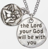 Angel Necklace, Joshua 1:9