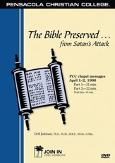 The Bible Preserved from Satan's Attack--DVD