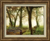 Serenity Prayer Framed Art