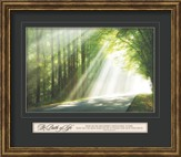 The Path Of Life, Framed Art