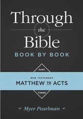 Through the Bible Book by Book, Part 3: Matthew to Acts - eBook