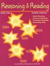 Reasoning & Reading Student Book Level 2, Grades 7-8