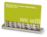 Believe Scripture Card Holder