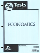 BJU Heritage Studies Grade 12 (Economics) Tests Packet Answer Key  Second Edition