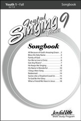 Joyful Singing for Teens #9 Songs