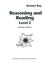 Reasoning & Reading Answer Key Level 2, Grades 7-8