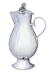 The Cup Silverplated Communion Flagon (Gold lined)