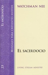 El Sacerdocio, SNC#23 / The Priesthood, NBS#23 - Spanish