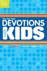 The One Year Devotions for Kids #1 - eBook