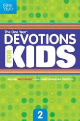 The One Year Devotions for Kids #2 - eBook