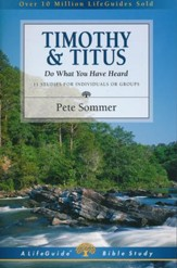 1 & 2 Timothy and Titus, Revised LifeGuide Scripture Studies
