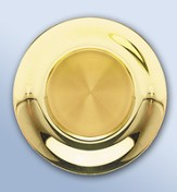 Solid Brass Paten (24K well)